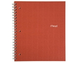 Mead Recycled Notebook, 1-Subject, 80-Count, College Ruled, Ginger (72437)