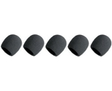 Microphone Windscreens Black Foam 5 Pack