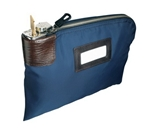 MMF Industries 7 Pin Locking Security Bag for Valuables and Night Deposit with Key Lock (233110808)