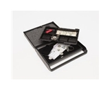 MMF Industries Steelmaster Slim Security Case with Key Lock