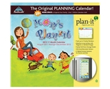 Mom-s Plan-It 2012 Magnetic Mount Wall Calendar