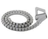 Monster CIT LGY-8 Large Diameter Gray Cable-It Wire Management System (8 feet)