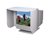 Kantek MV14/17 Monitor Privacy Visor for 14 to 17-Inch LCD and CRT Monitors - Light Gray