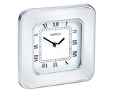 Natico Desk Alarm Clock, Silver (10-591S)