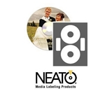 Neato - LaserGloss CD/DVD Labels - 100 Pack