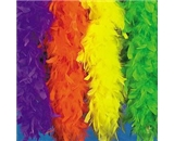 Neon Green Feather Boa (6 Pcs) - Bulk [Toy]