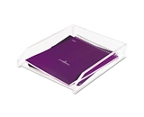 New-Kantek AD10 - Single Letter Tray, Acrylic, Clear - KTKAD10 [Electronics]