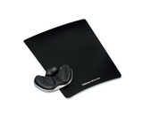 NEW - Memory Foam Gliding Palm Support w/Mouse Pad, Black - 9180301