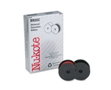 Nu-Kote BR80C Nylon Calculator Ribbon (Black/Red)