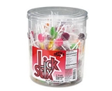 Office Snax OFX00003 Lick Stix Suckers 220 Pack