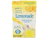 Office Snax OFX02722 Flavor Stix for Bottled Water Sugar-Free Lemonade .14 oz 10 Stix