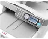 Okidata C3530N Color Laser Fax Copier Printer & Scanner with Network Card