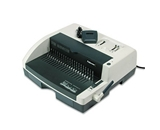 PB2650E Comb Binding and Punch Combo System, 17-7/8- Wide, Platinum/Charcoal FEL52151