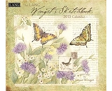 Perfect Timing - Lang 2013 Wingets Sketchbook Wall Calendar (1001612)