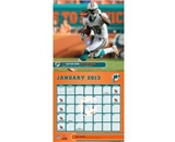 Perfect Timing - Turner 12 X 12 Inches 2013 Miami Dolphins Wall Calendar (8011284)