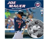 Perfect Timing - Turner 12 X 12 Inches 2013 Minnesota Twins Joe Mauer Wall Calendar (8011153)