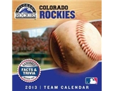 Perfect Timing - Turner 2013 Colorado Rockies Box Calendar (8051038)