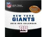 Perfect Timing - Turner 2013 New York Giants Box Calendar (8051112)