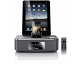 Philips DC390/37 Dual-Docking 30-Pin iPod/iPhone/iPad Alarm Clock Speaker Dock