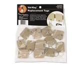 PMC04985 SecurIT Extra Blank Velcro Tags, Velcro Security-Backed