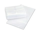 PMC58011 Plastic Coin Bags, 10-x18- - Clear