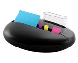Post-it Pop-up Notes Dispenser for 3 x 3-Inch Notes and Assorted Flags, Pebble Collection by Karim