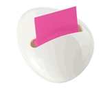 Post-it Pop-up Notes Dispenser for 3 x 3-Inch Notes, Pebble Collection by Karim, White Dispenser