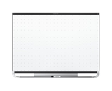 Quartet Prestige 2 Total Erase Magnetic Whiteboard, 4 x 3 Feet, Black Aluminum Frame