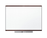 Quartet TE547MP2 Prestige 2 Total Erase Whiteboard, 6- x 4-, Mahogany