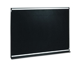 Quartet Connectable Modular Black Embossed Foam Bulletin Board, 6 x 4 Feet, Mounting Hardware Included