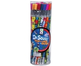 Raymond Geddes Dr. Seuss, Sharp-N Sweep Erasers, 50 per tub, Assorted (67129)