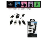 Retractable USB Cable  810287019387