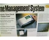 Royal CS300 Card Swipe Payroll Timeclock w/software+printer