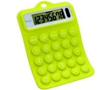 Royal RB102 Rubber Calculator - Green