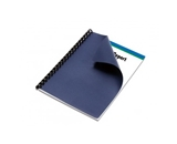 Linen Navy Paper Letter Size Binding Cover 50 Pack
