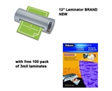Royal Sovereign NR-1201 12 Business Pouch Laminator w/ free pack of 3mil