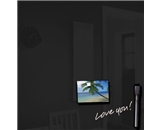 Royal Sovereign RS-WB20BLK 20- x 20- Magnetic Glass Drywipe Board in Black