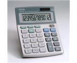Royal XE48 12 Digit Angled Display Calculator