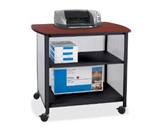 Safco Impromptu Deluxe Machine Stand, Black (1858BL) [CD-ROM] [Office Product]