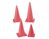 Safety Cone; 15- Height; Fluorescent Orange; no. CHSTC15