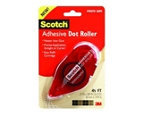 Scotch Adhesive Dot Roller, 0.31 x 49 Feet (6055)