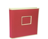 Semikolon 200 Pocket Bound PhotoAlbum, Red (0420004)