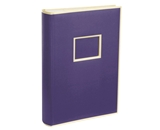 Semikolon 300 Pocket Bound Photo Album, Plum (04118)