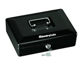 SentrySafe CB10 Small Cash Box, Black