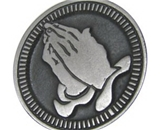 Serenity Prayer Pocket Pewter Coin