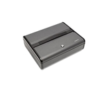 Steelmaster Security Case, Elite, 14-3/4w x 4-1/4h x 11-3/4d, Charcoal Gray - SteelMaster 2217020G2
