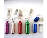 Small Pill/ID Holder Keychain (Assorted Colors) [Misc.]