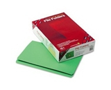 Smead Straight Cut File Folders, Heavy Duty Reinforced Tab, Legal Size, Green, 100 per Box (17110)