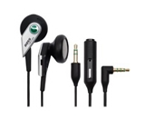 SonyEricsson MH-500 Stereo Bass Reflex Headset Black for the Sony Ericsson Vivaz, Vivaz Pro, Xperia X8, Xperia X10, Xperia X10mini and Xperia X10 mini pro phone models.