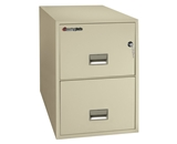 Sentry 2G2531 2 Drawer 25- Deep Fire Impact And Water Resistant Vertical Legal File